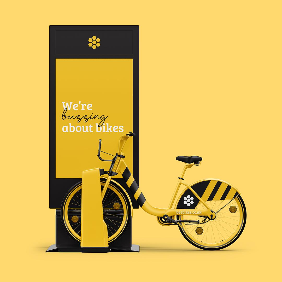 Manchester Bee Bikes Branding by Tom Horbury