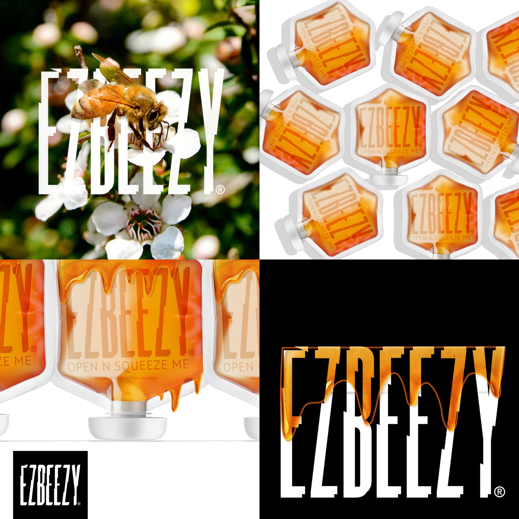 The Ez ist way to use Honey by Candybrophycreative
