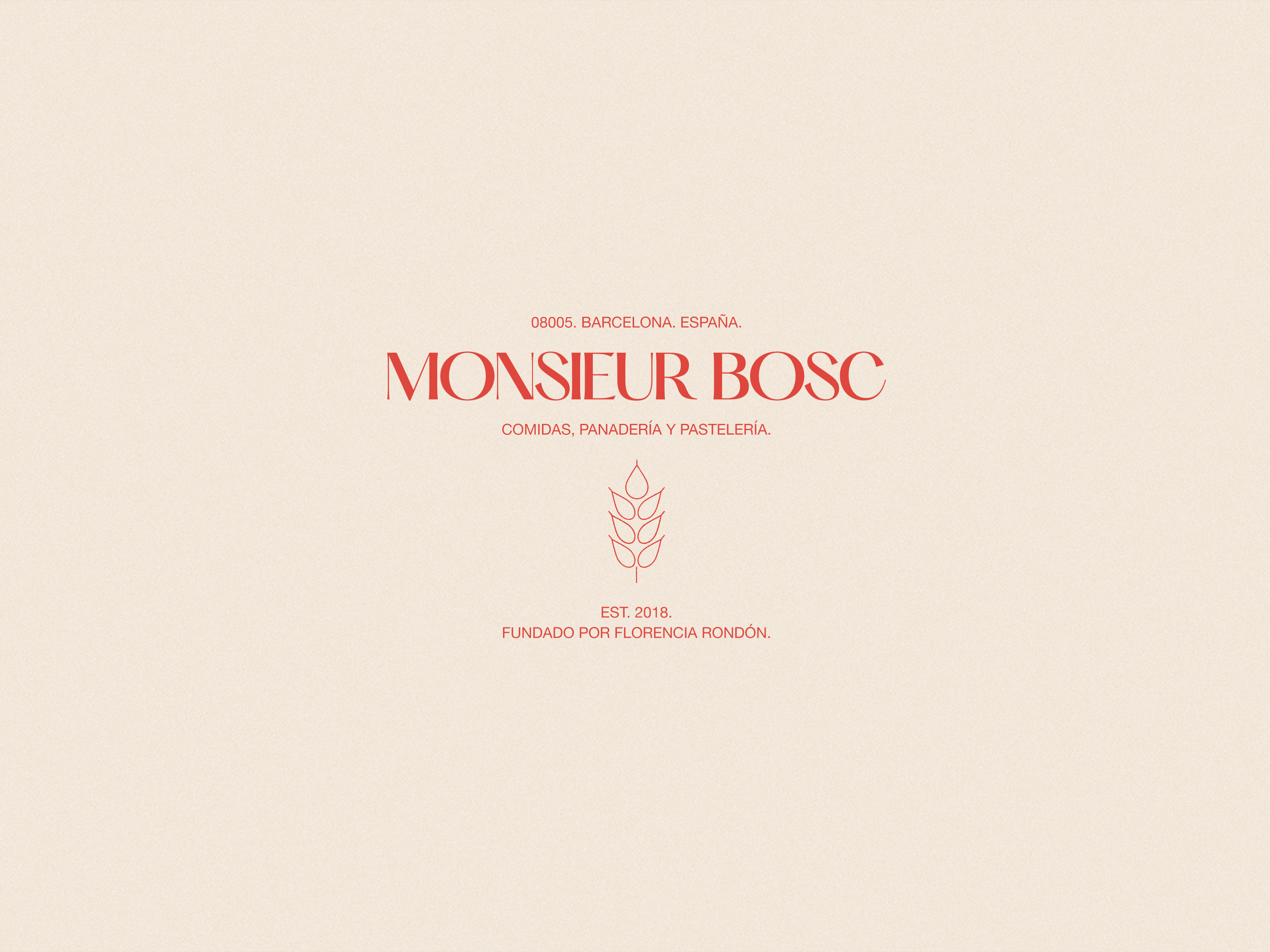 Unsolicited Creates a Visual Identity for Monsieur Bosc