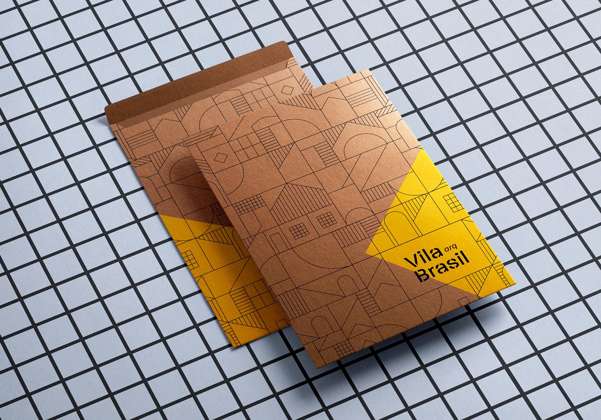 Brand Identity for Vila Brasil Architecture Studio by ADD Branding