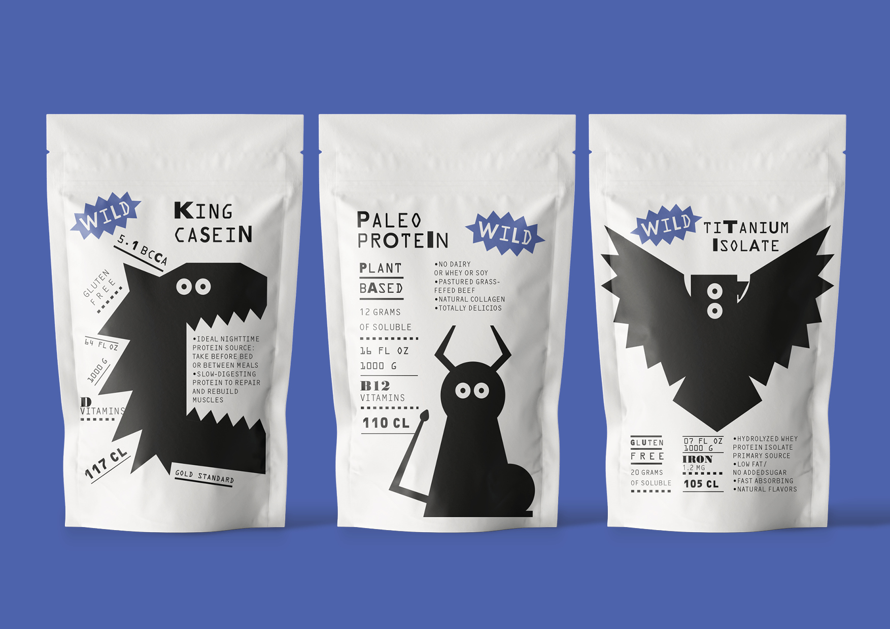 Valeria Obrazkova – Student Design Concept for Wild Sports Nutrition Brand