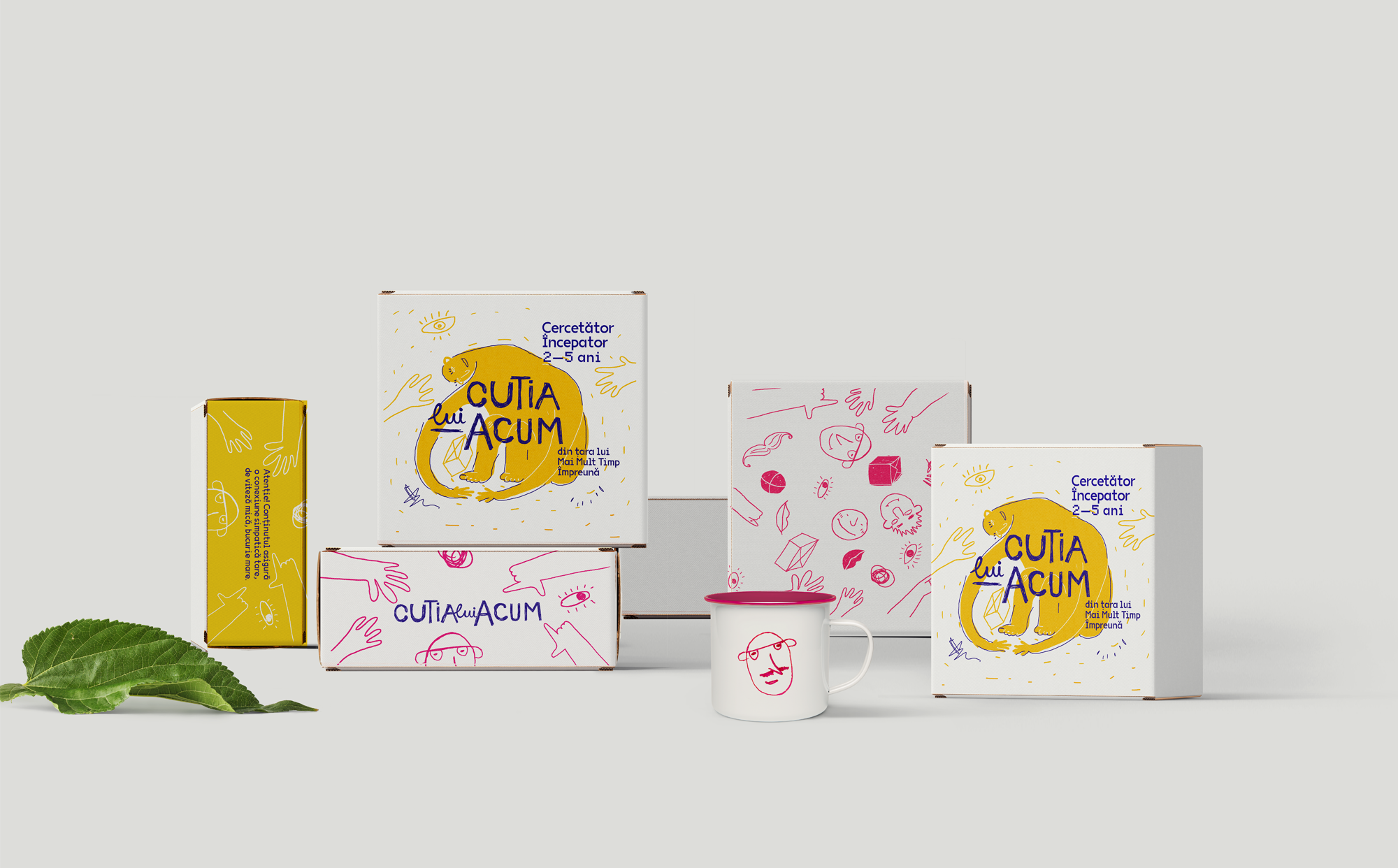 Anta Design Creates a Beautiful and Fun Family Game Boxes that says Everyone is Unique