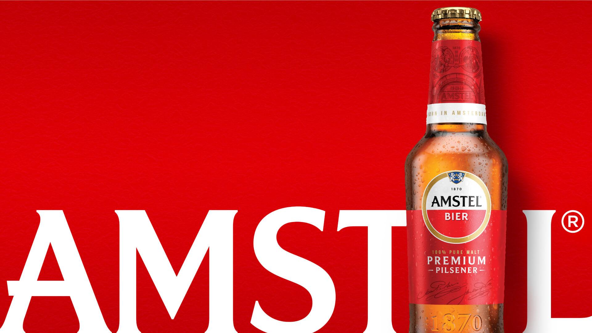 Elmwood London Crafts New Brand Identity for Amstel®