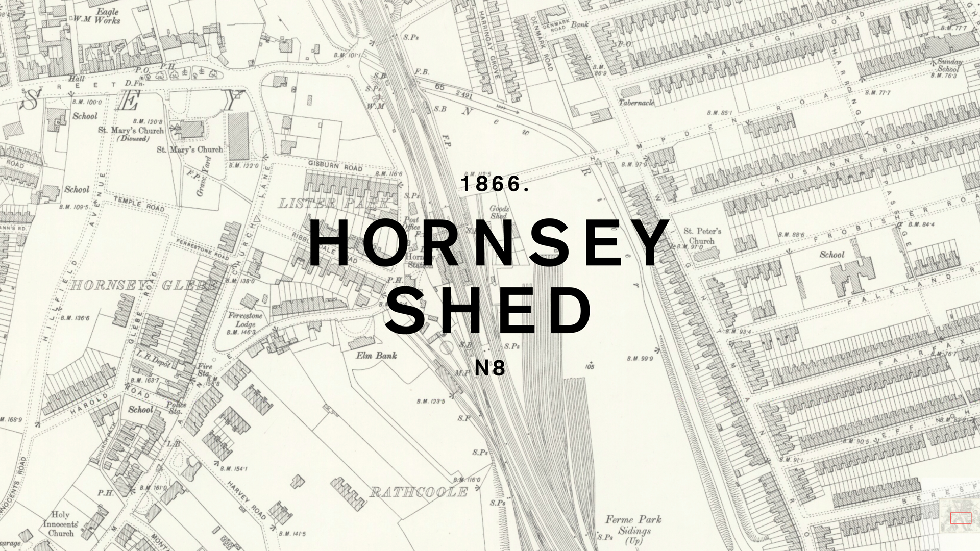 Branding for Pop-up Café and Bar, Hornsey Shed
