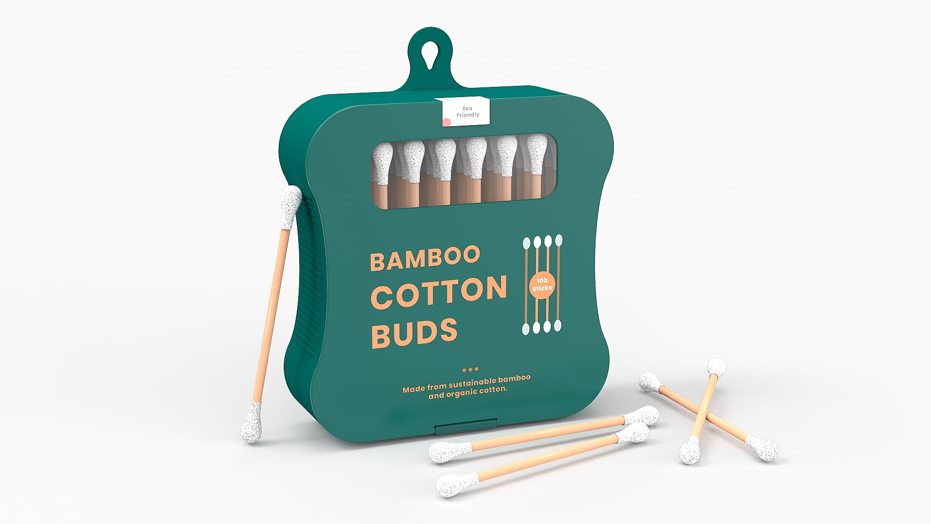 Student Concept for Sustainable Bamboo Cotton Buds