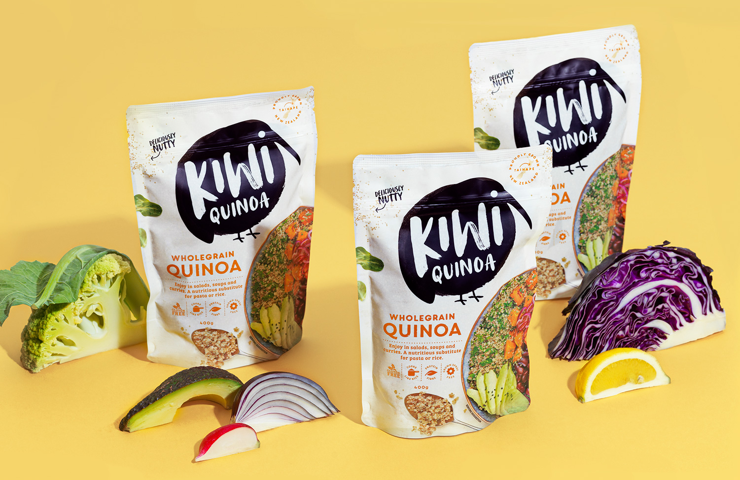Unified Brands New Brand and Packaging Design Helps Bring Quinoa to Kiwis