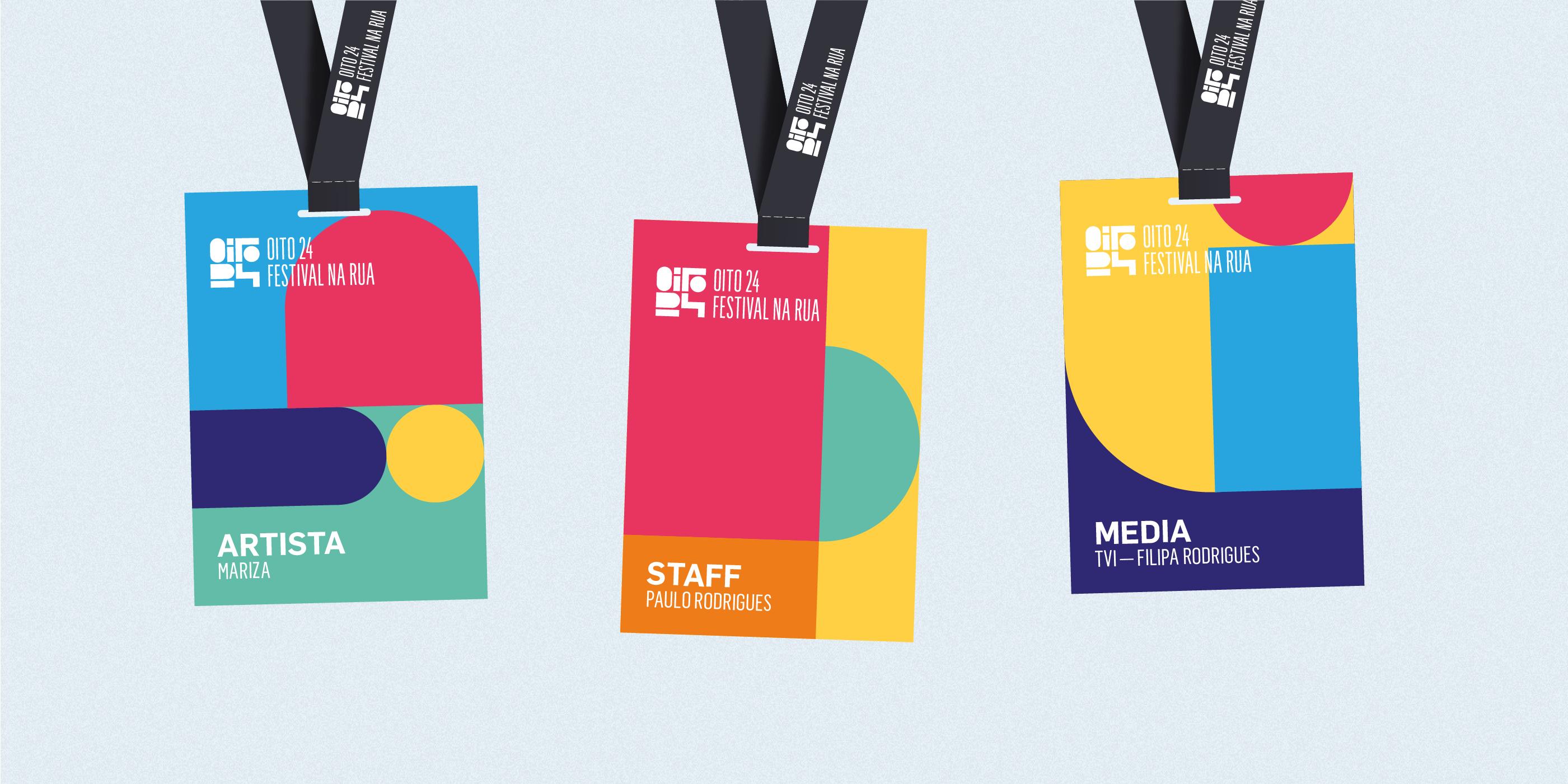 André Duarte Concept Branding for OITO 24 Festival