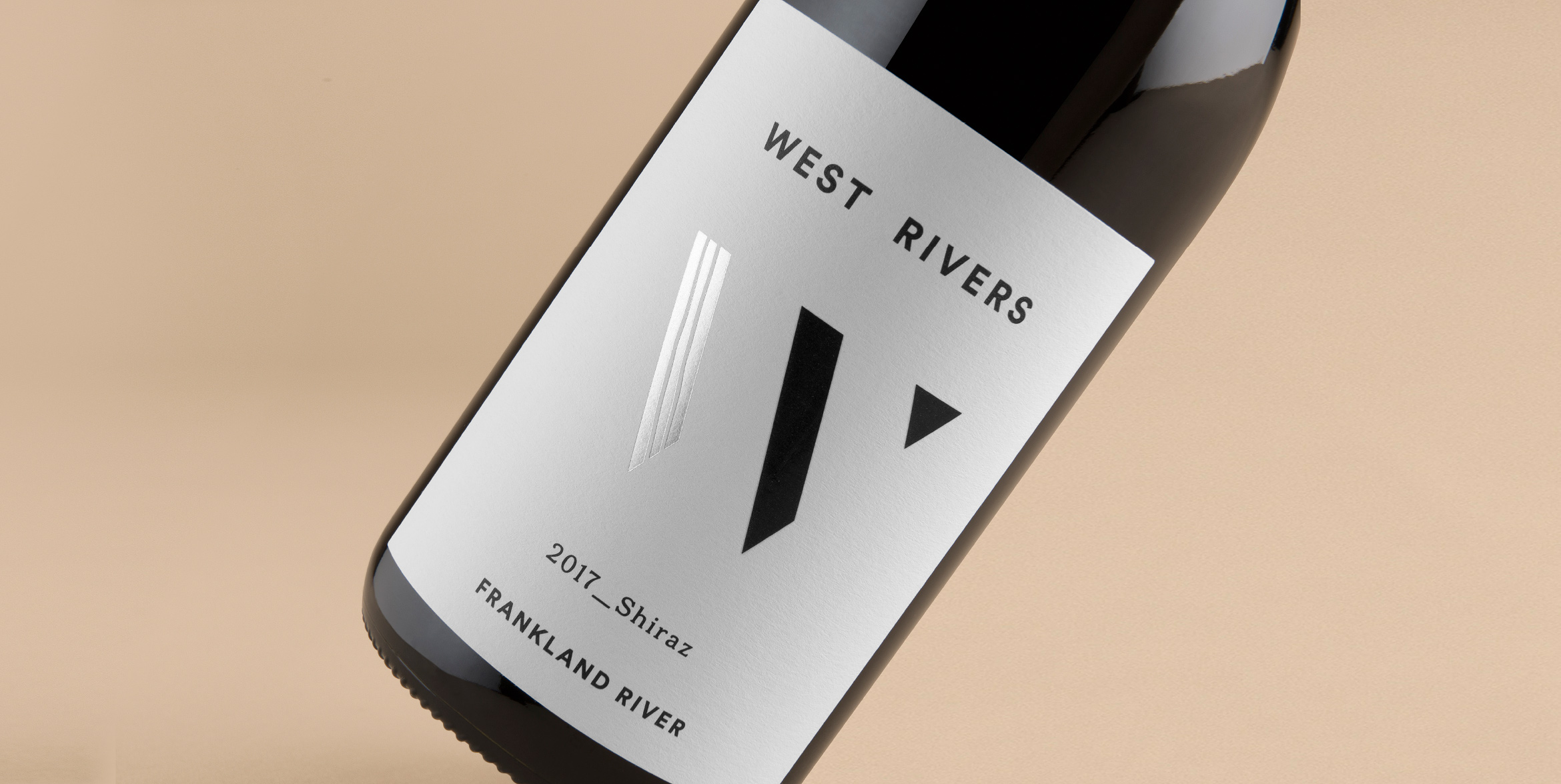 Be Co. Packaging Label Design for West Rivers Wines