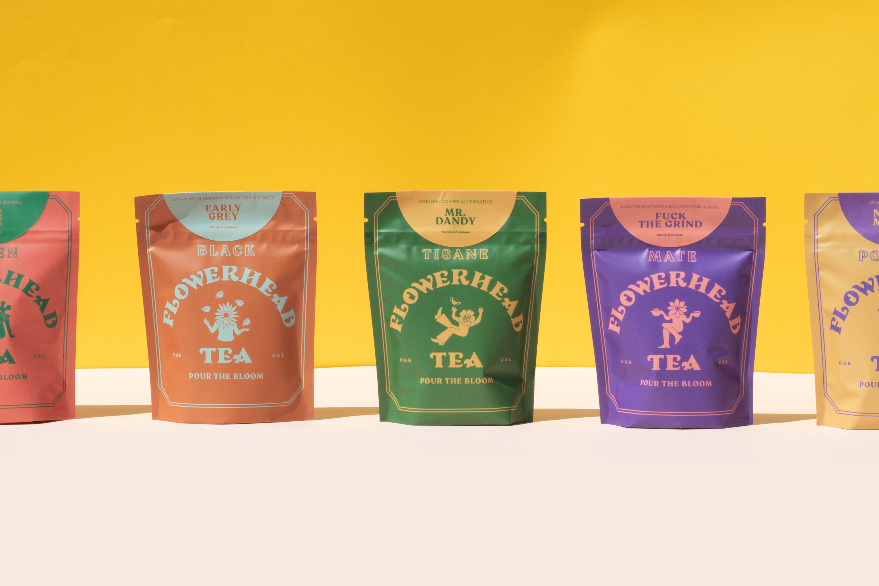 Tea Time For A Very Merry Unbirthday: Toro Pinto Create Brand and Packaging Identity System for Flowerhead
