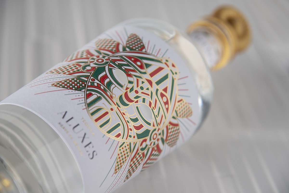 Javier Garduño Estudio de Diseño Create New Aluxes Tequila Packaging Design