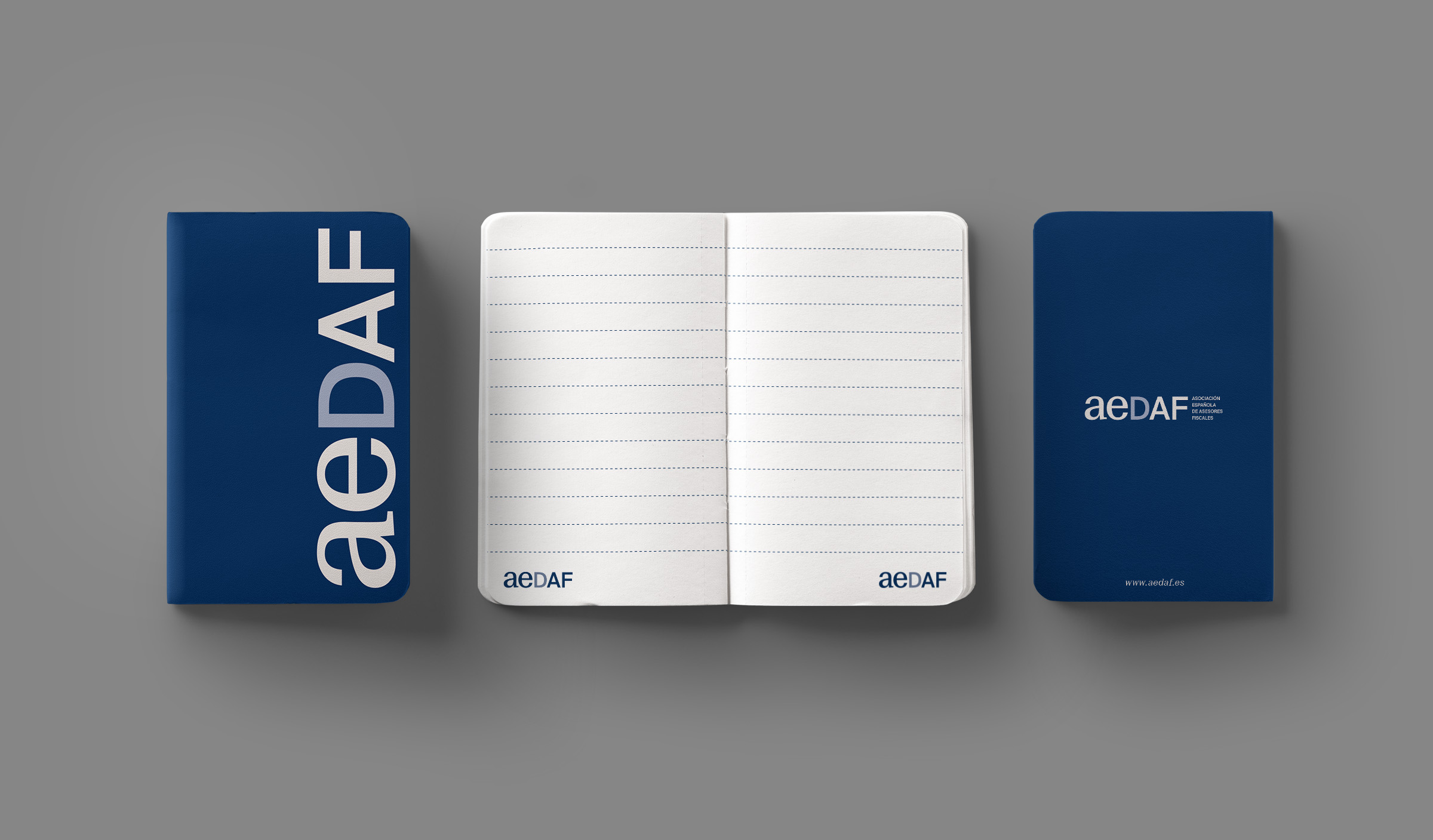Rebranding by Nueve for AEDAF – Spanish Association of Tax Advisors