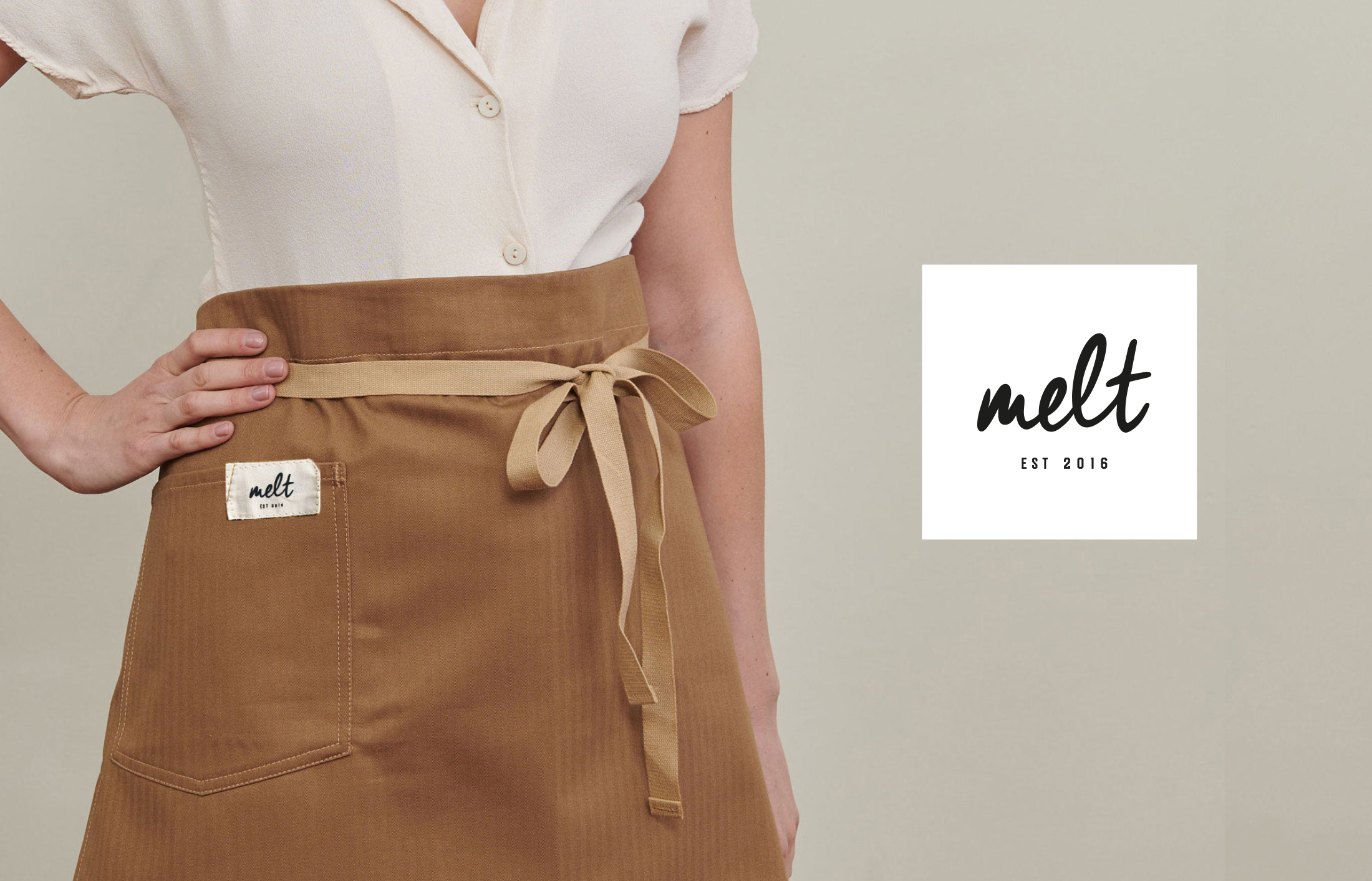 """Brand Development by FortyTwo Studio for well Regarded and Established Local Brand """"Melt"""""""