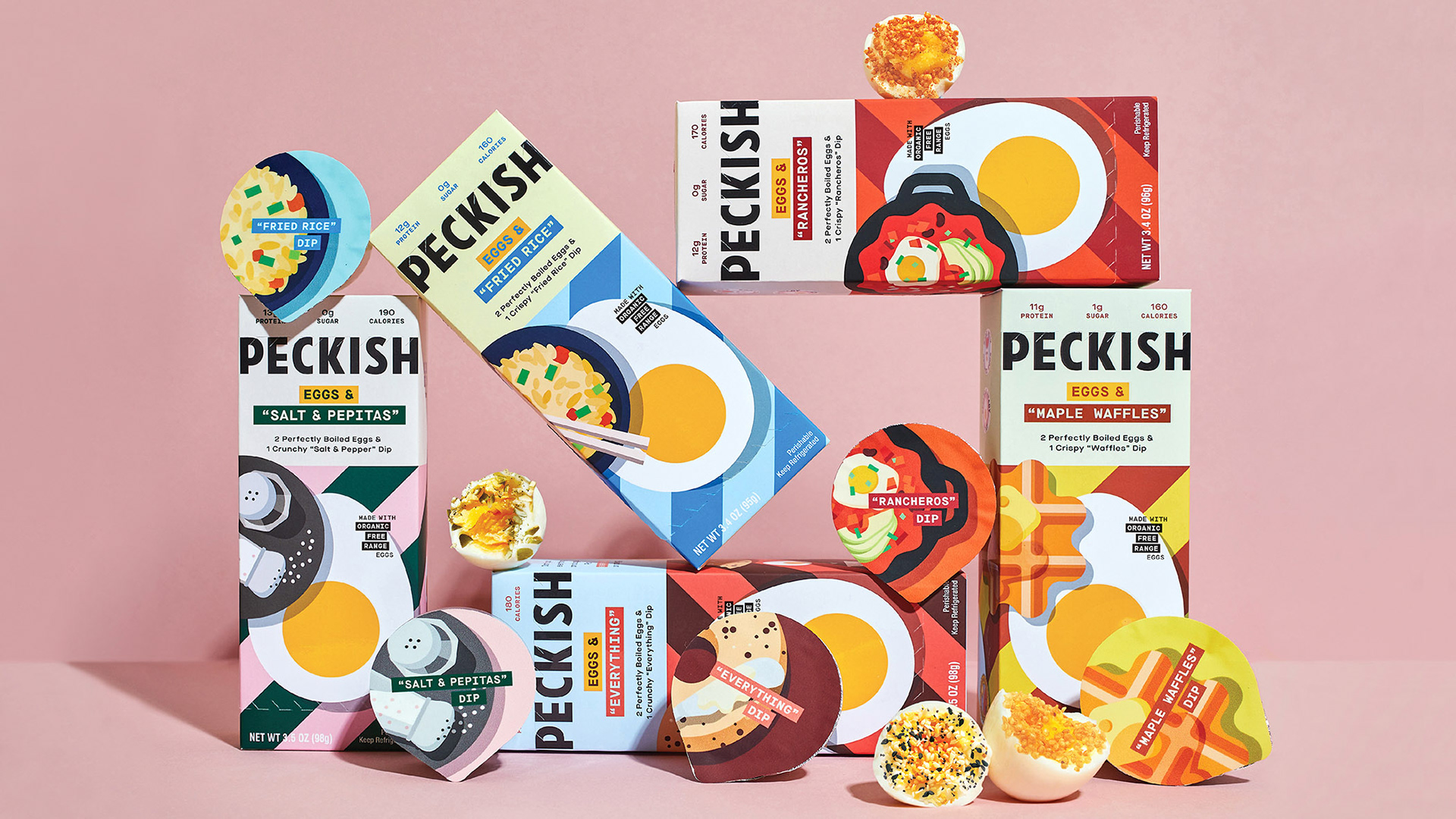 Nature S Finest Organic Free Range Eggs Delightfully Dippable Packaging Design Created By Hatch World Brand Design
