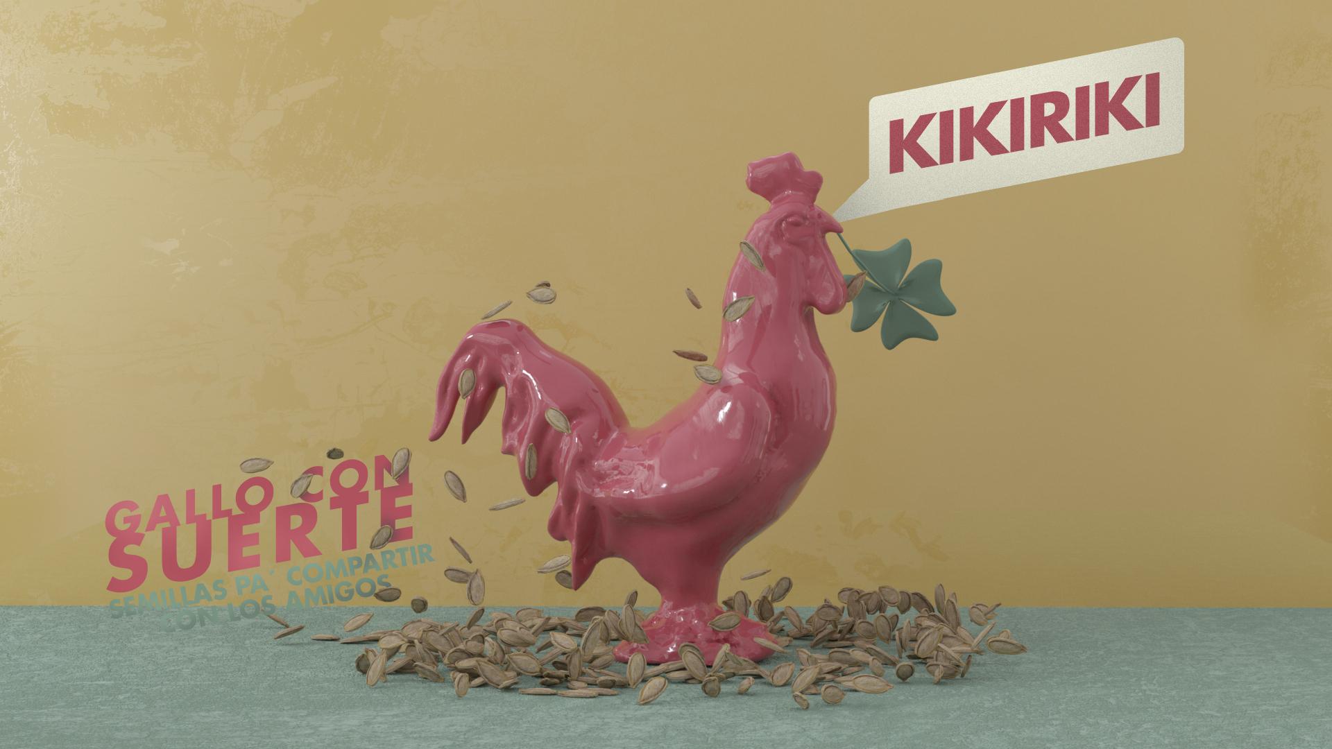 """Hi! Estudio Design """"Gallo Con Suerte"""" Seeds to Share"""