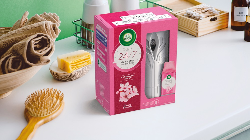 Marks. Help RB Launches Newly Designed Air Wick Freshmatic