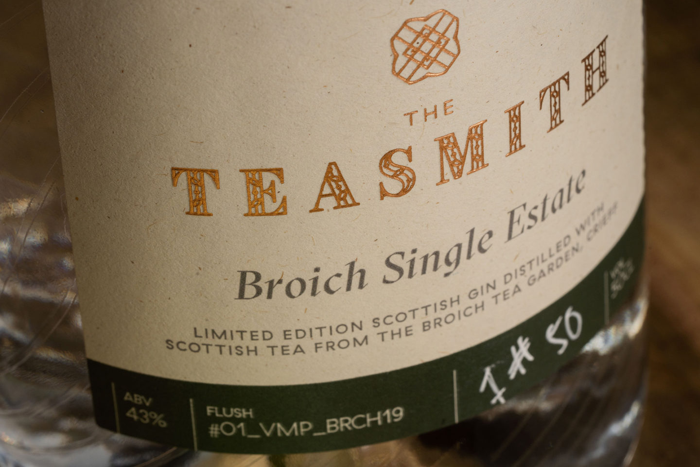 FortyTwo Studio the Brand Partner for The Teasmith, the World's First Gin Distilled with Scottish-Grown, Hand Picked Tea