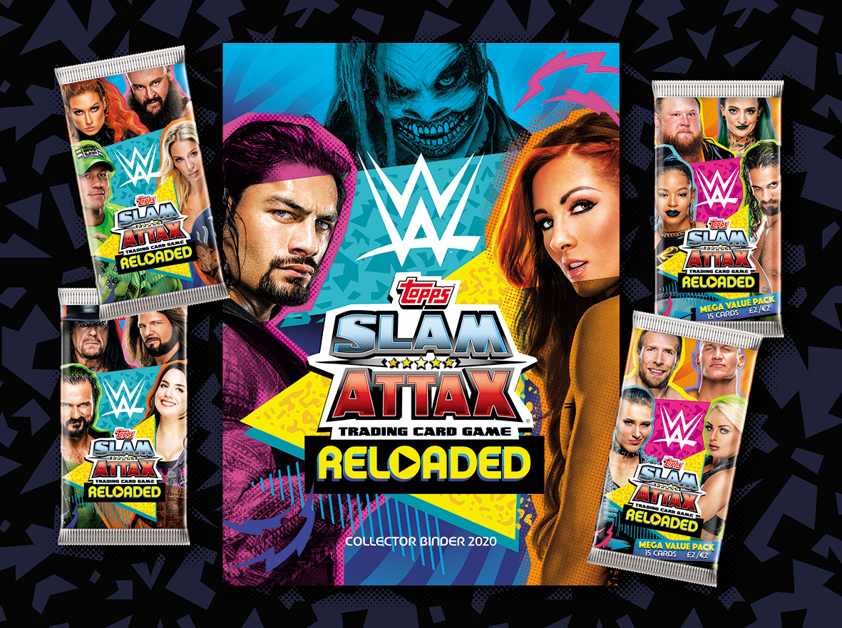 Wowme Designs the WWE Slam Attax Reloaded Trading Card Game