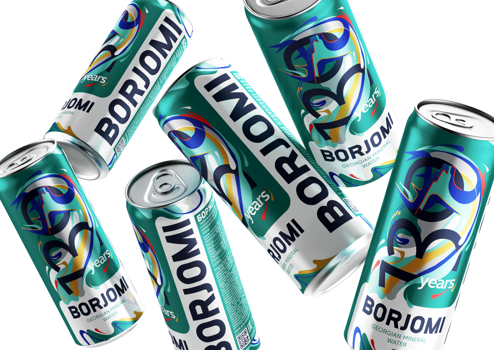 Reynolds and Reyner Create Borjomi Georgian Mineral Water 130th Anniversary Collection
