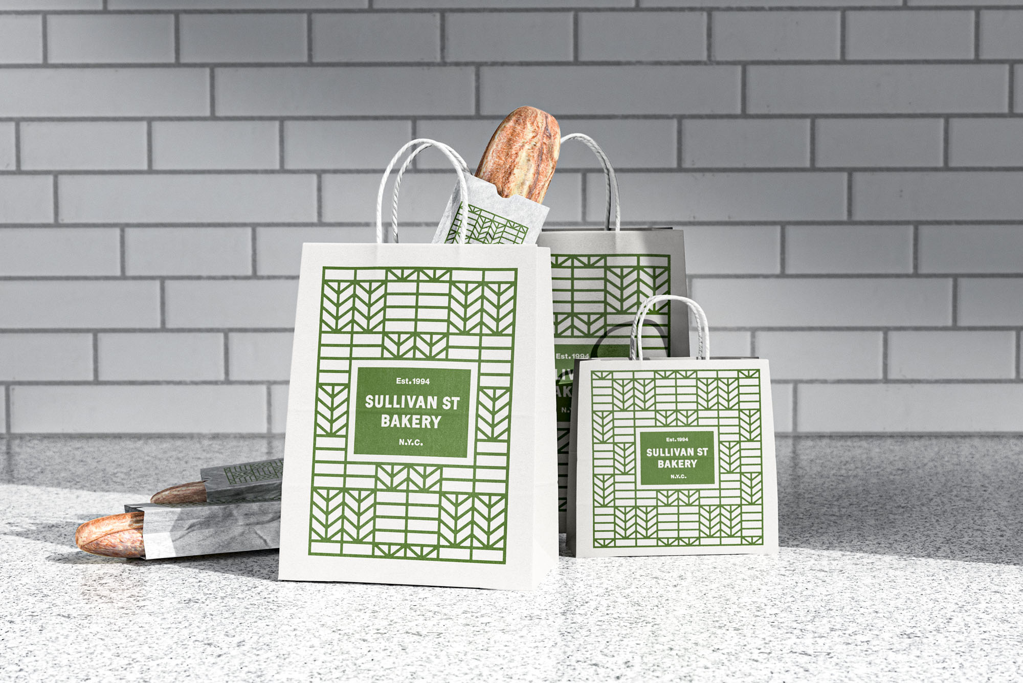 Nessen Co Agency Rebranding of Sullivan Street Bakery, a New York Staple