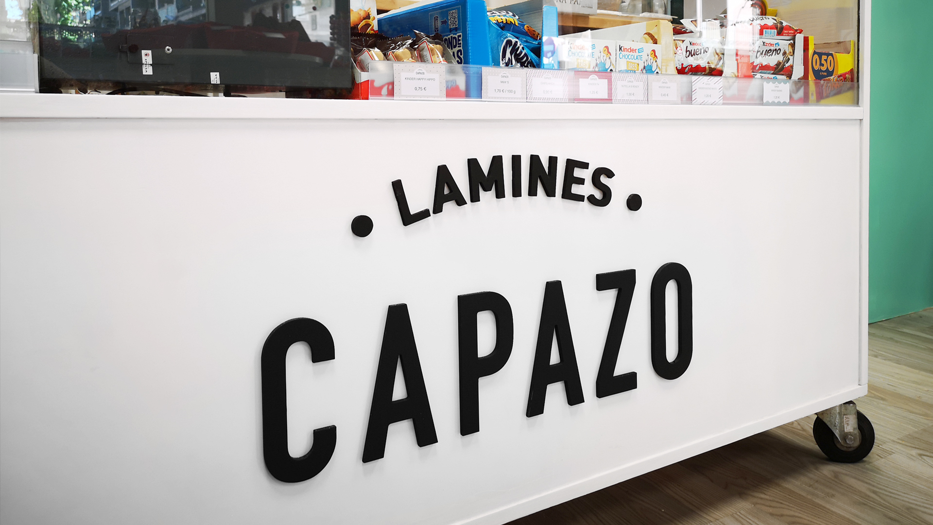 Branding and Retail Design Created for Lamines Capazo by igloo