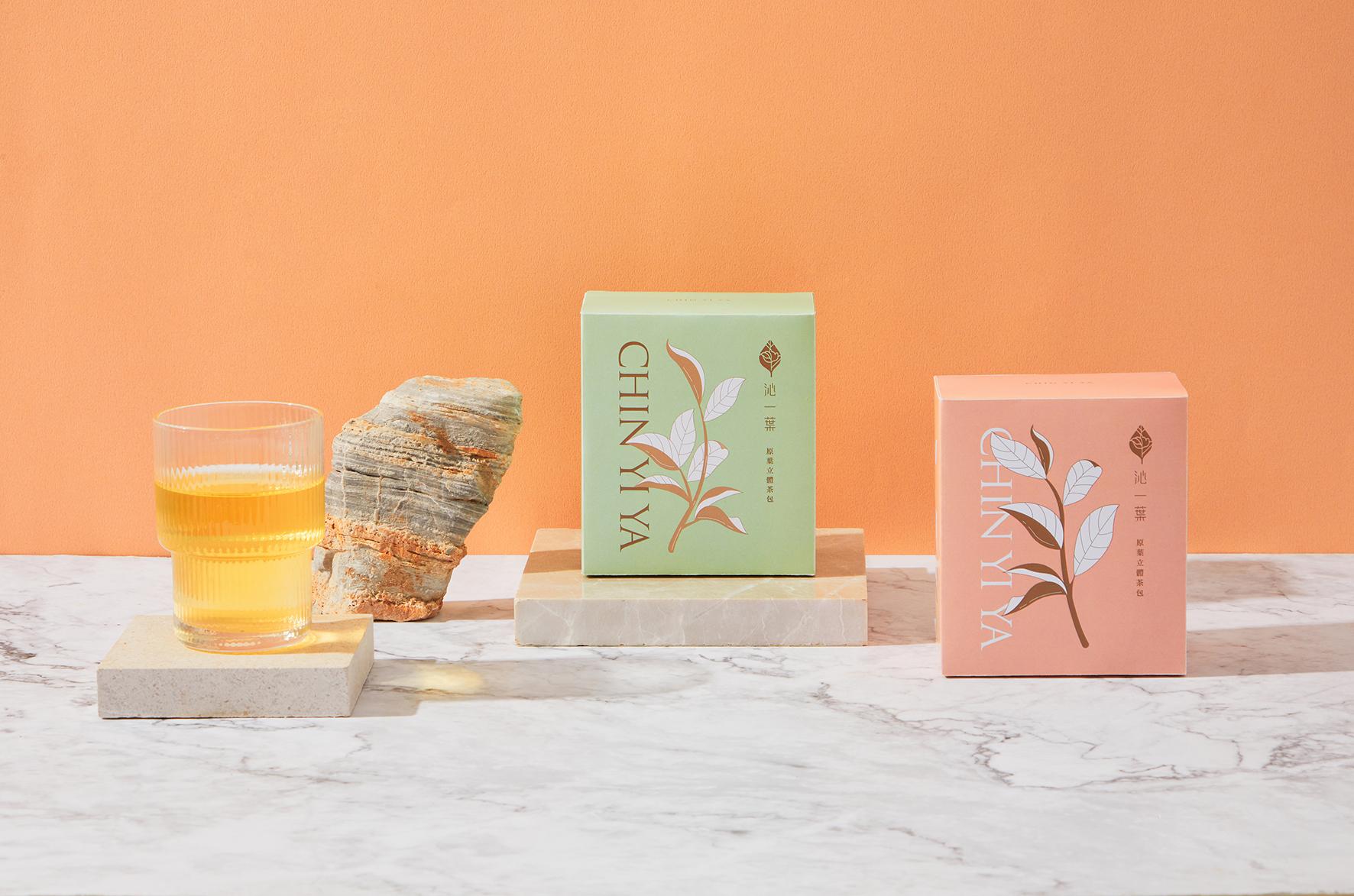 Chin Yi Ya Tea Shop Packaging Designed by Aaoo Studio