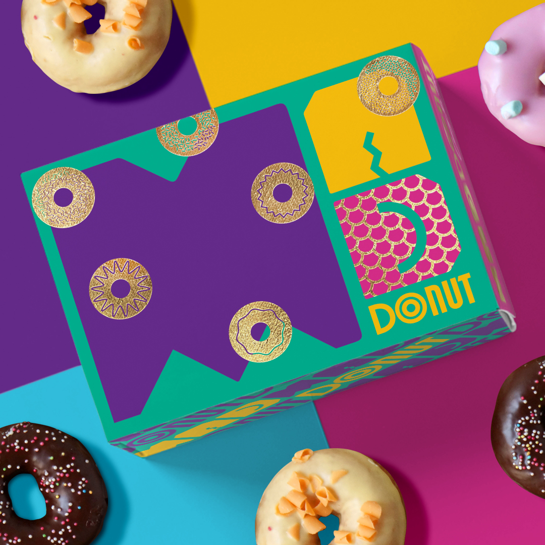A Concept by Spasm Studio for Decades Donuts Project