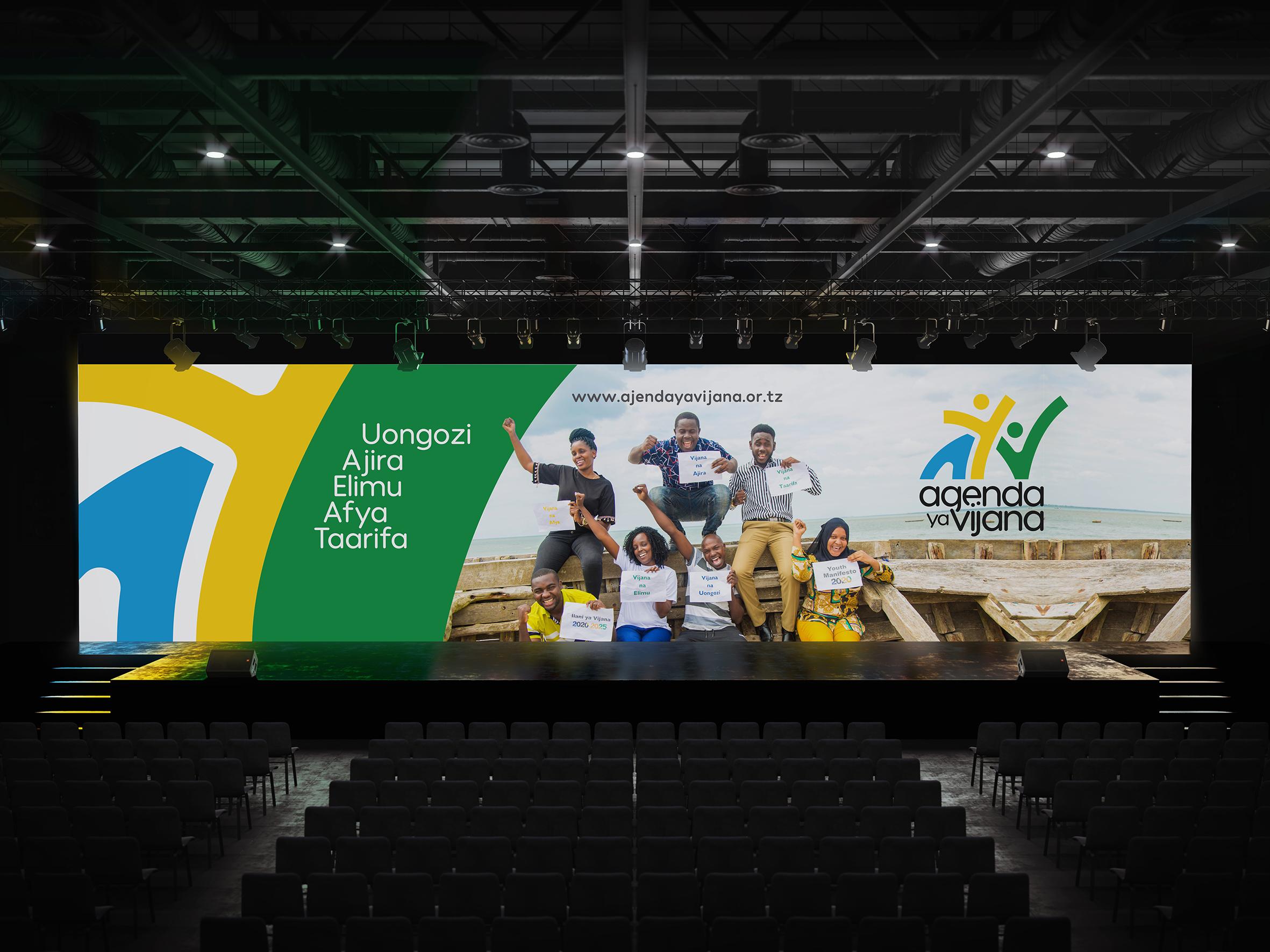 """The Youth Manifesto"" Agenda Ya Vijana Campaign Branding by XAAF Brand"