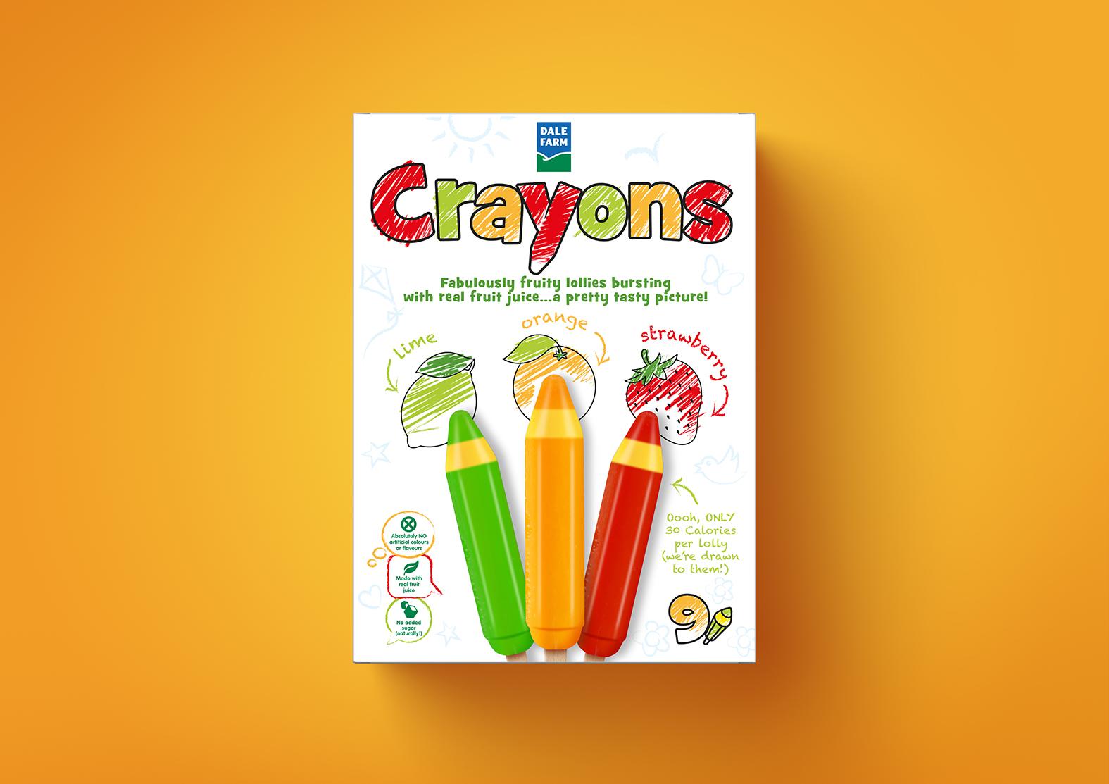 Simon Pendry Creative Crayons Brand Creation