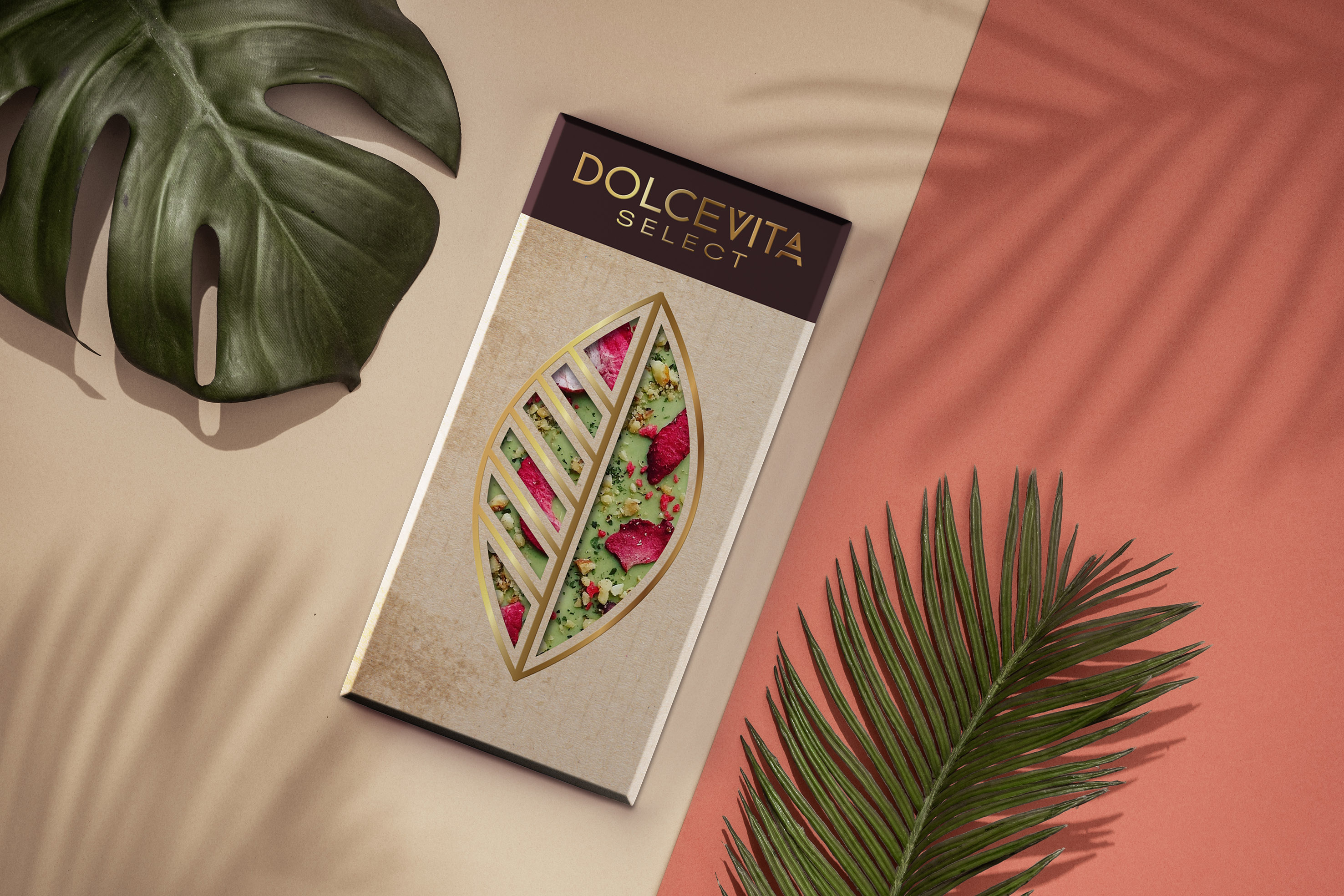 Packaging Design Concept for Chocolate Dolcevita by Alisa Vorkunova