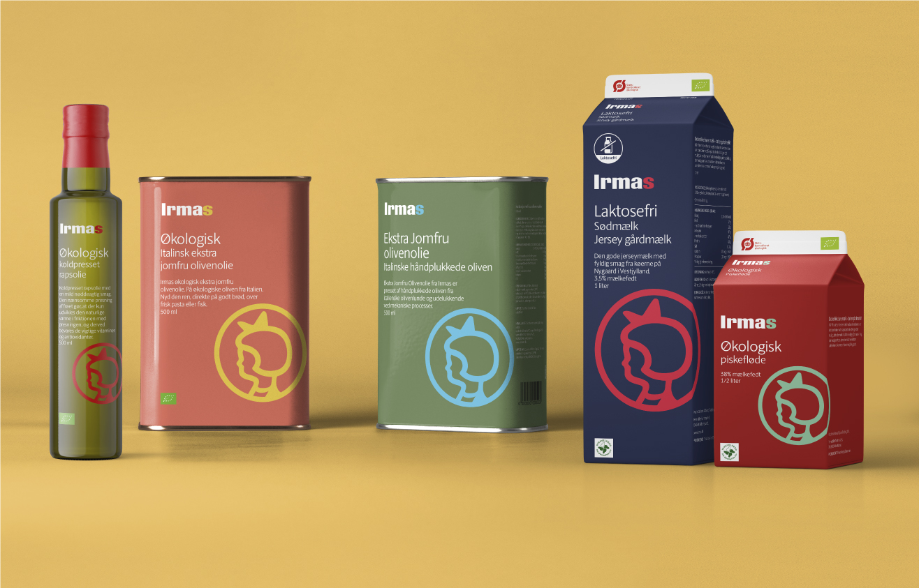 IDna Group Create Private Label Packaging Design for Irma