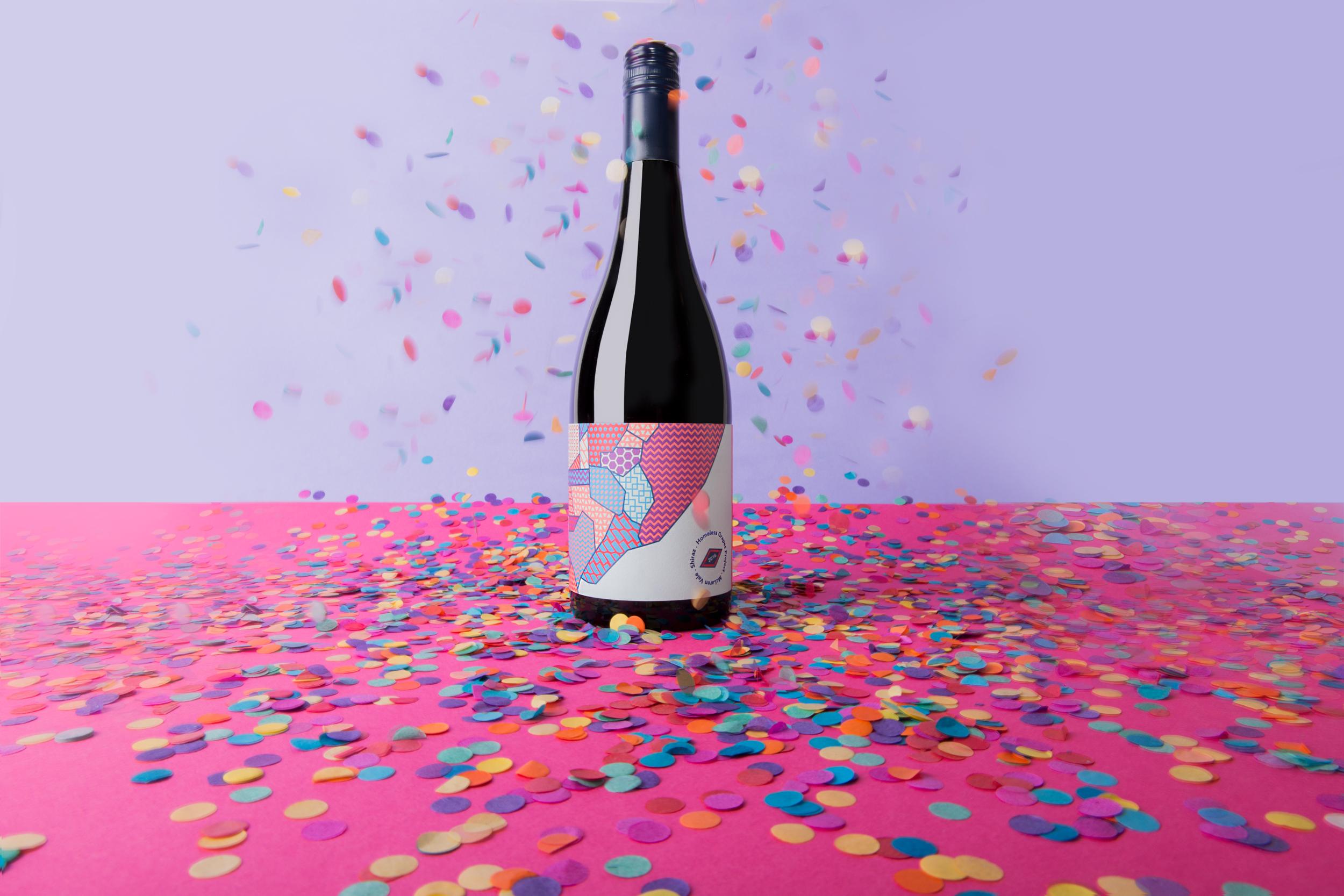 Partner Studio's Wine Label Packaging Design that Celebrates Humanity
