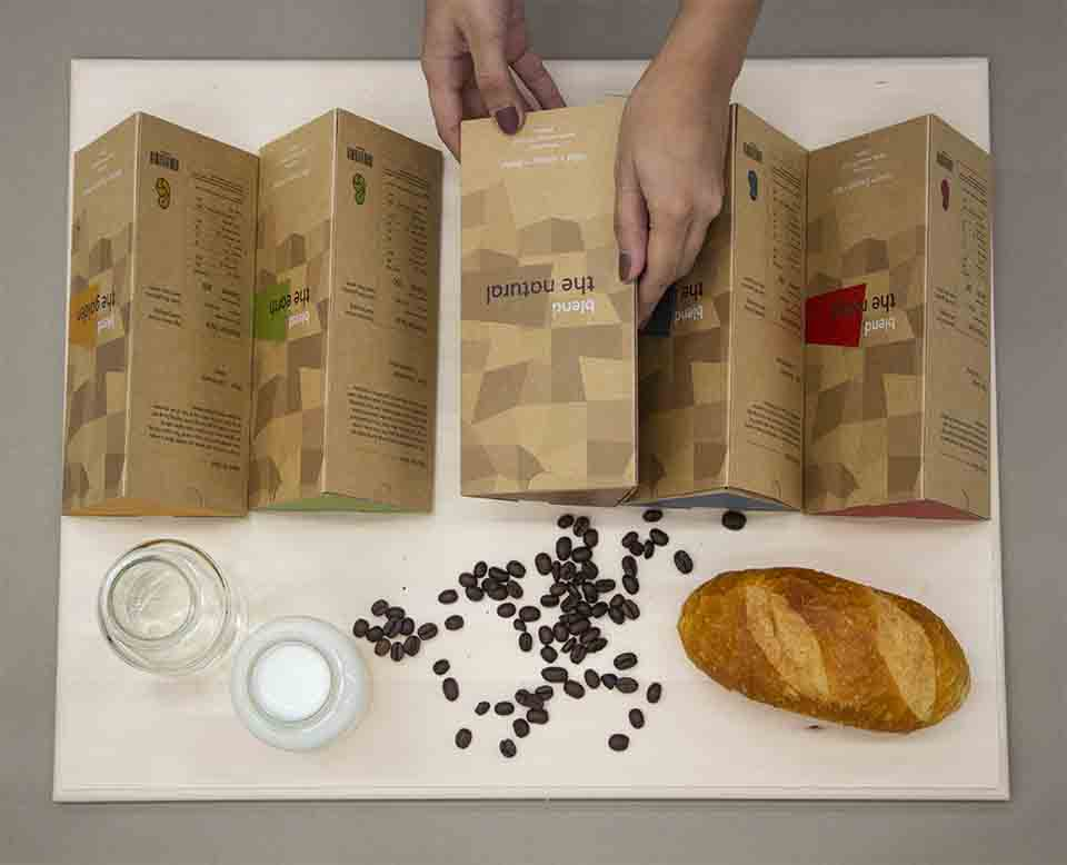 Studio T Creates a Concept for Sustainable Packaging Design