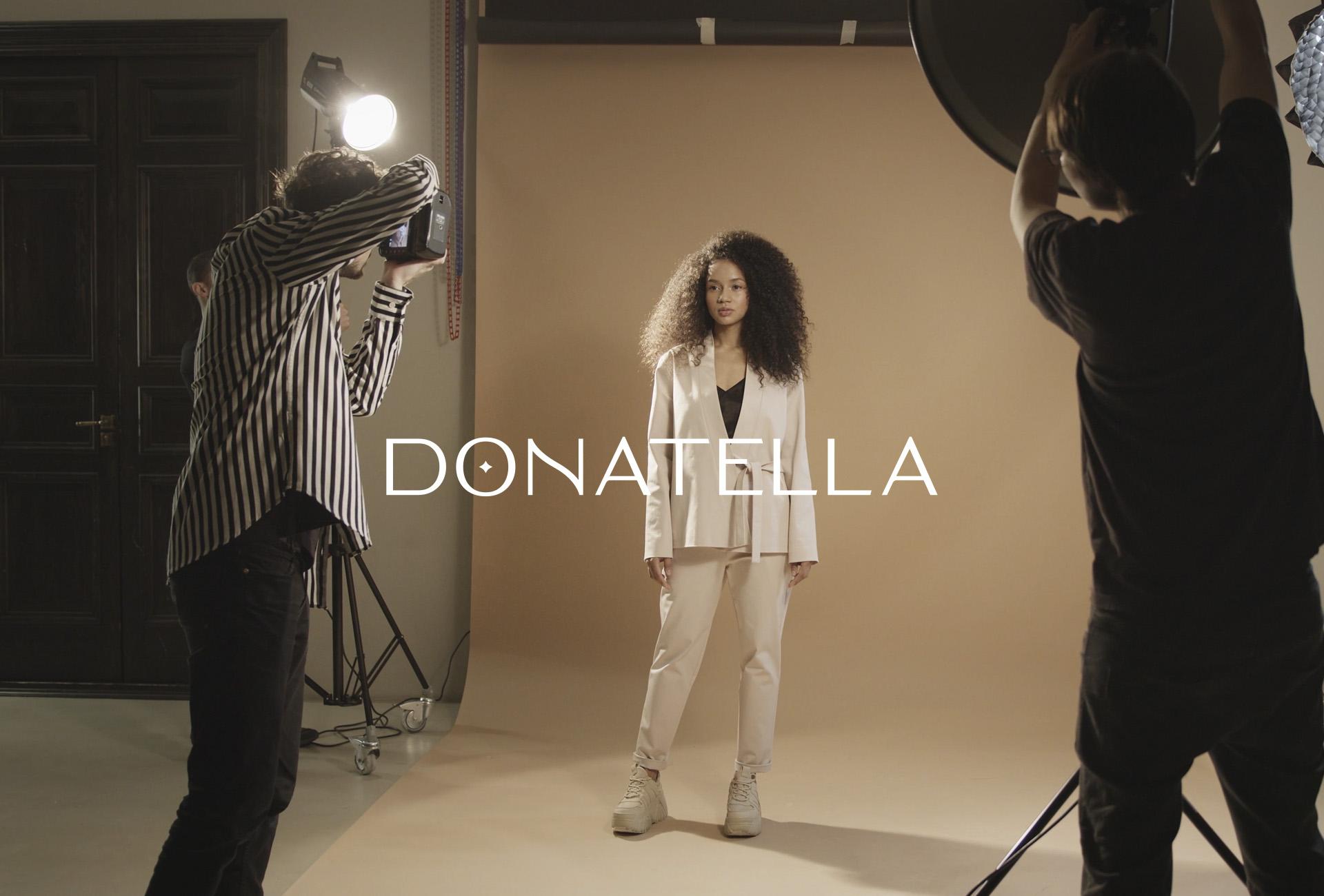 A Modern Visual Fashion Brand Identity for Donatella by Yago Ferreira