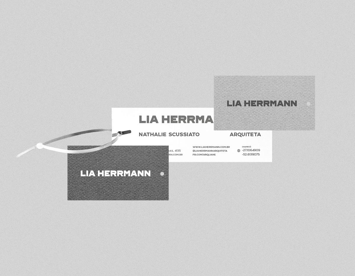 New Branding Identity for Lia Herrmann by Neo/Saga