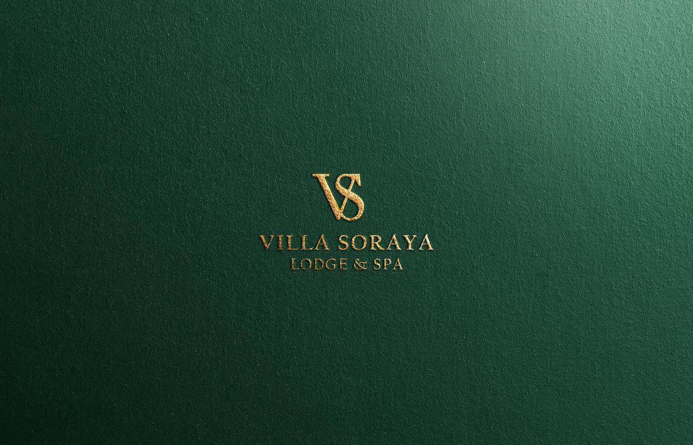 Villa Soraya Brand Identity Designed by Anas Belekhbizi