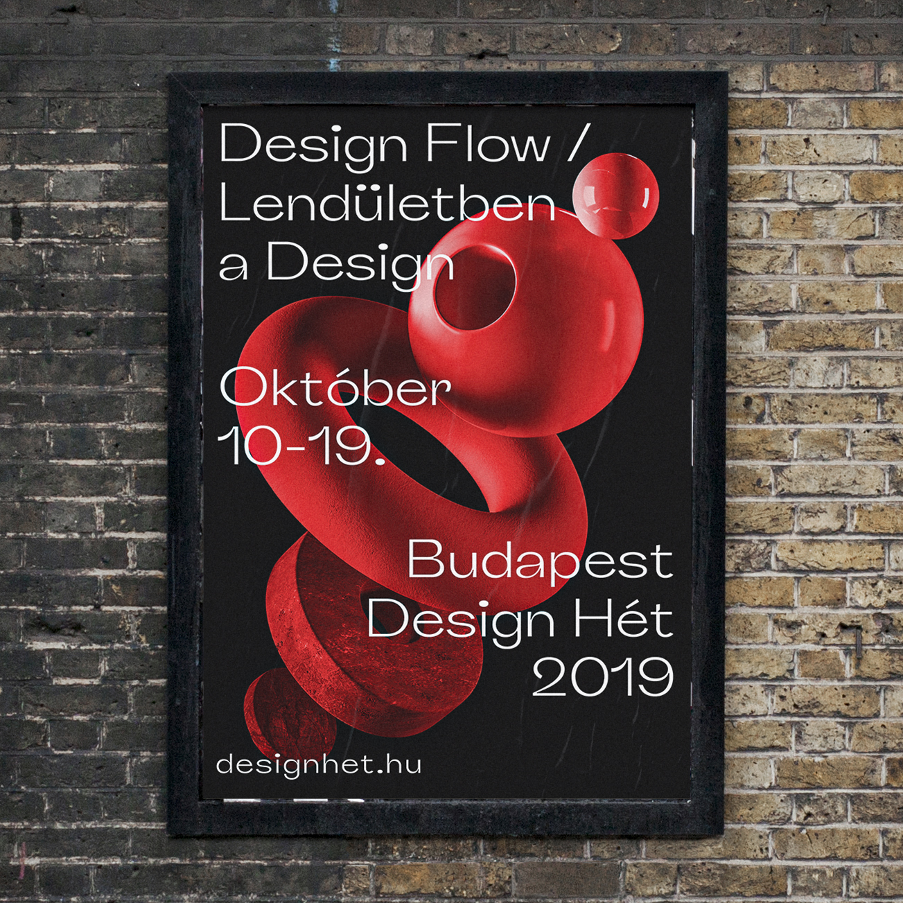 Classmate Studio Design Concept for Budapest Design Week 2019 Identity