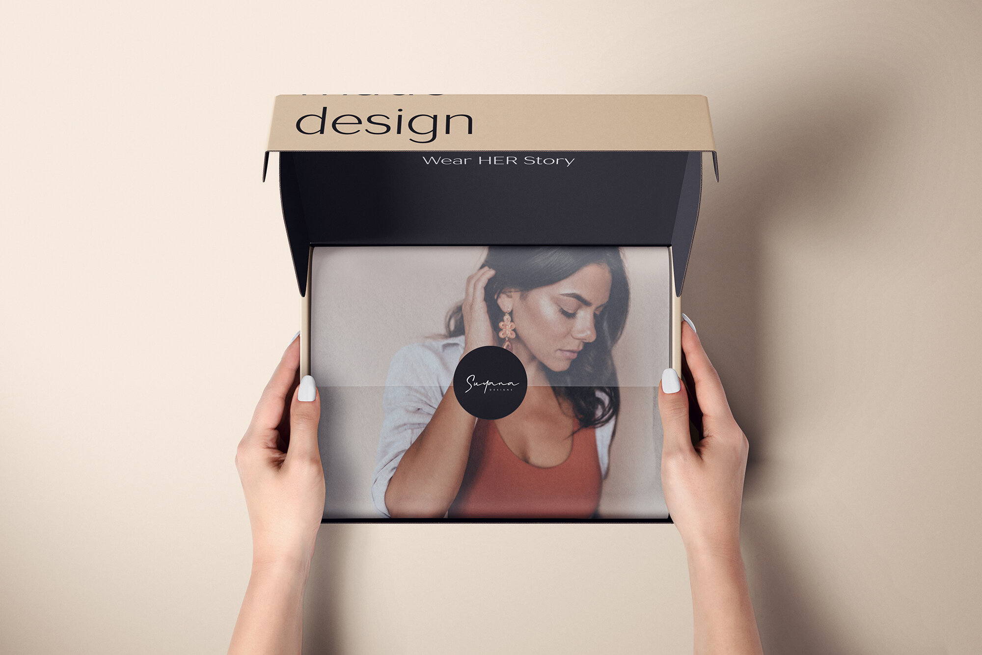 Mutar Branding Create Branding Strategy and Design for Suyana Designs
