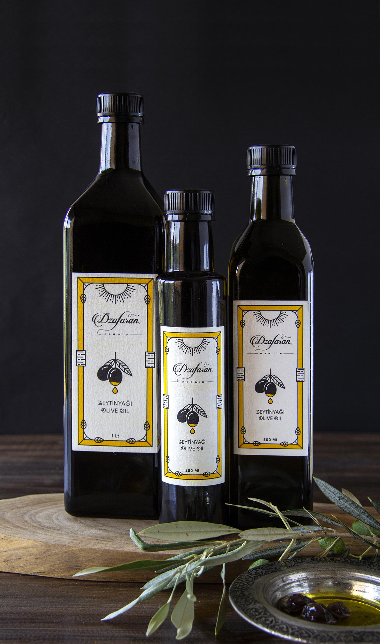 Packaging and Branding Design for Dzafaran by Kursat Unsal