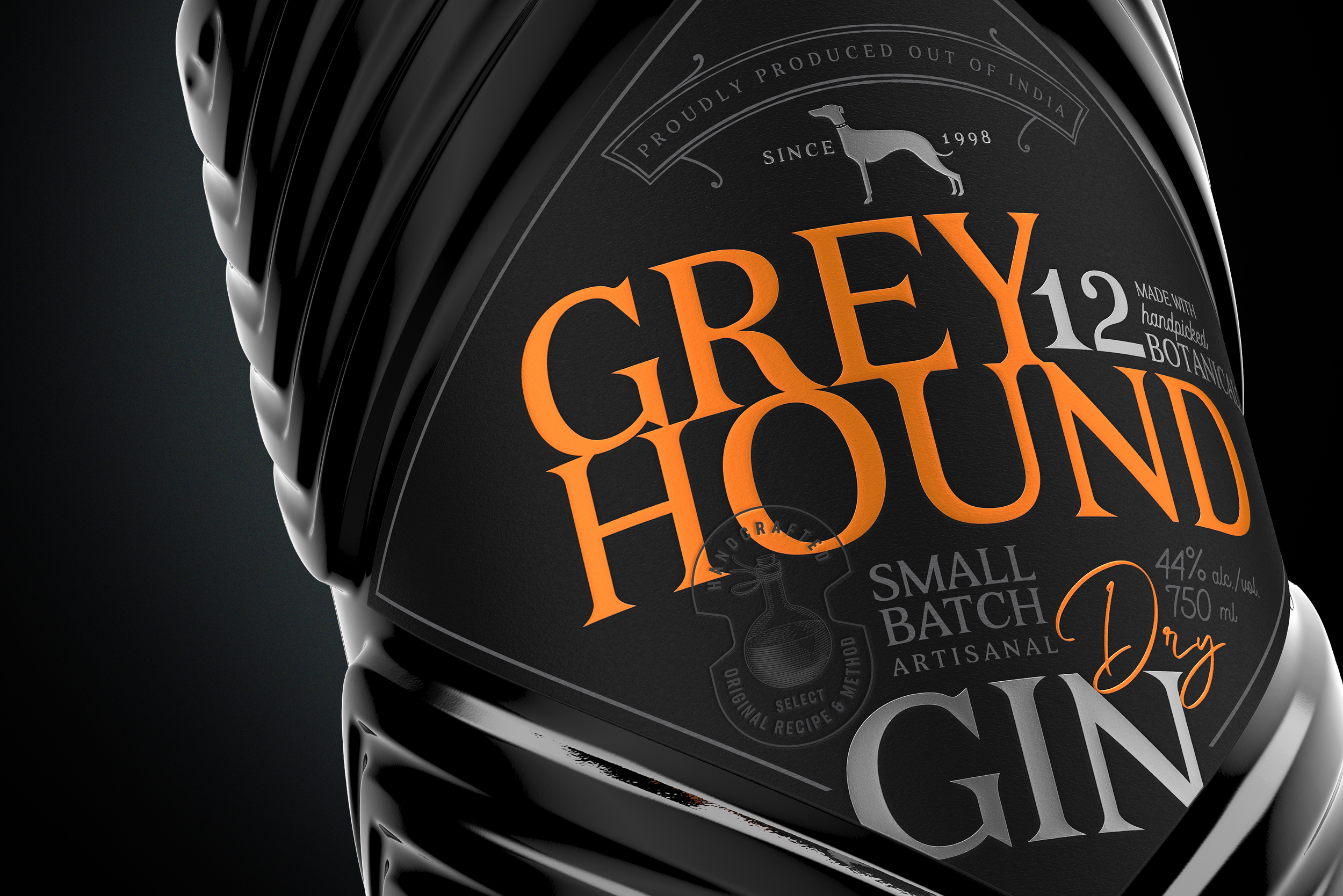 Firstbase Unveils the Black Pearl of Goa, a Greyhound Artisanal Gin