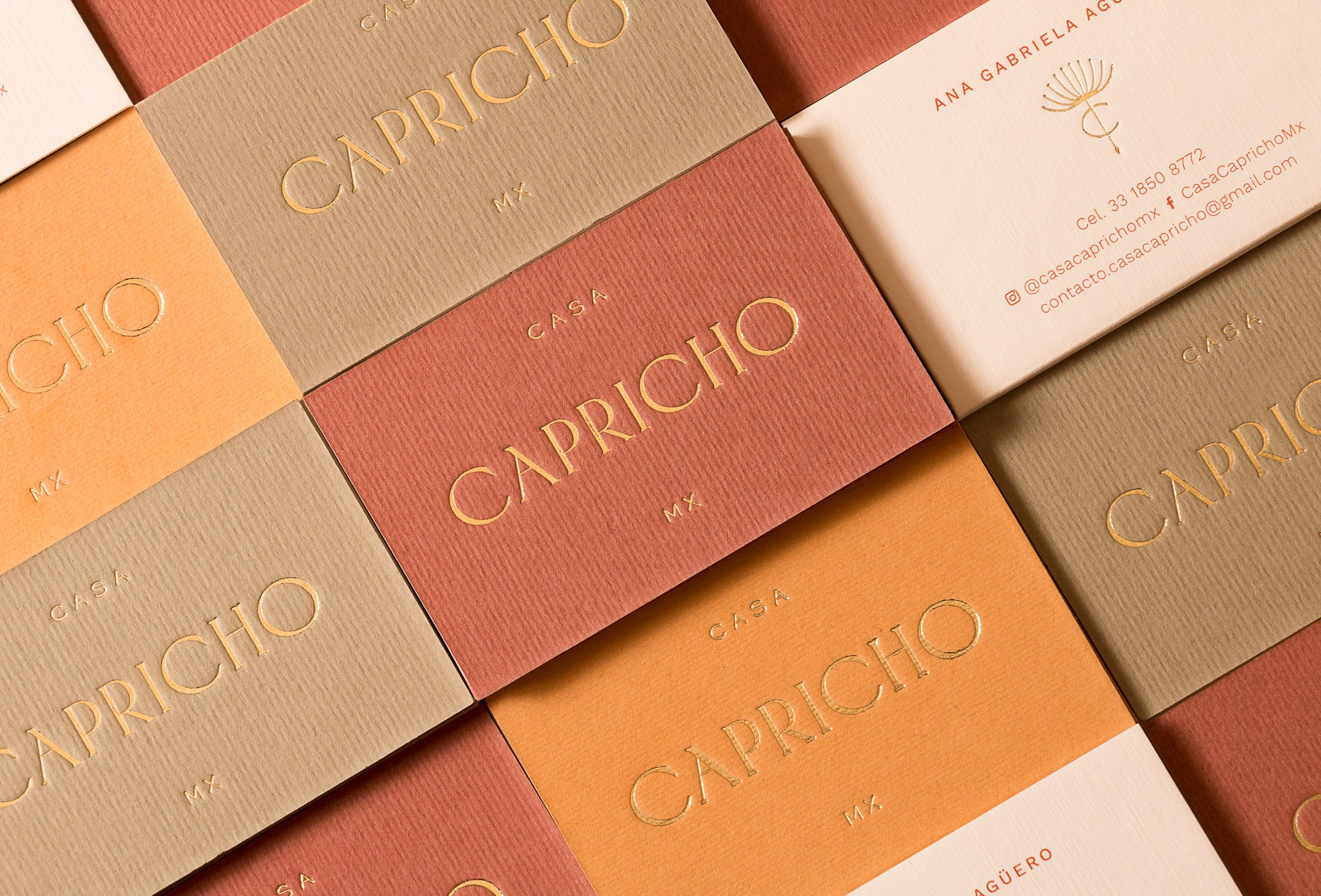 Estudio Albino Create Casa Capricho Brand and Packaging Design
