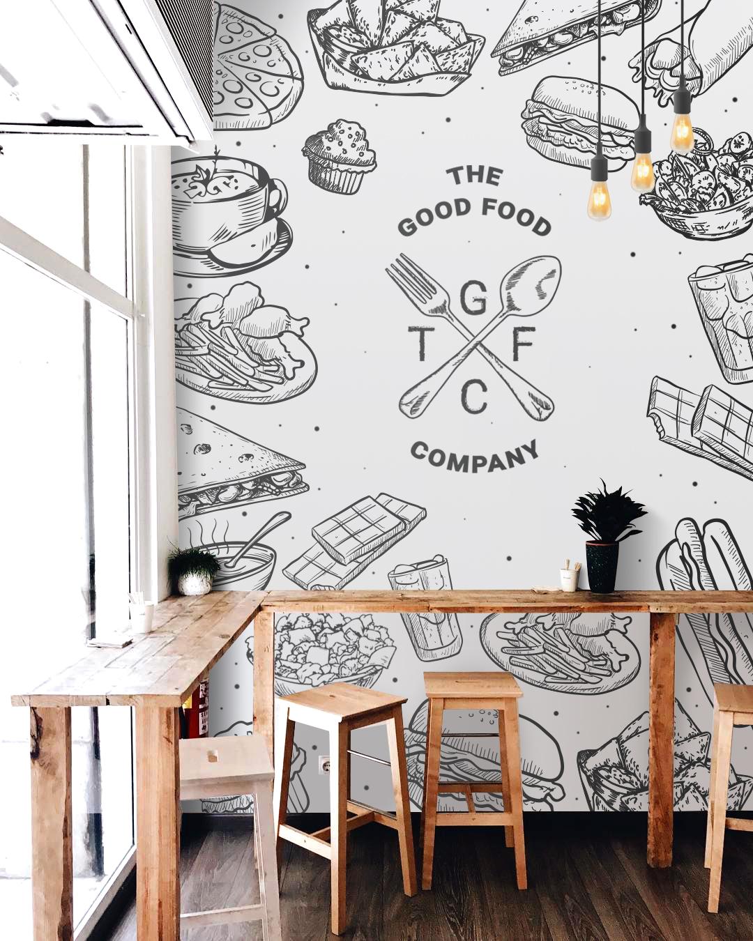 78 Design Creates The Good Food Company's Brand Identity