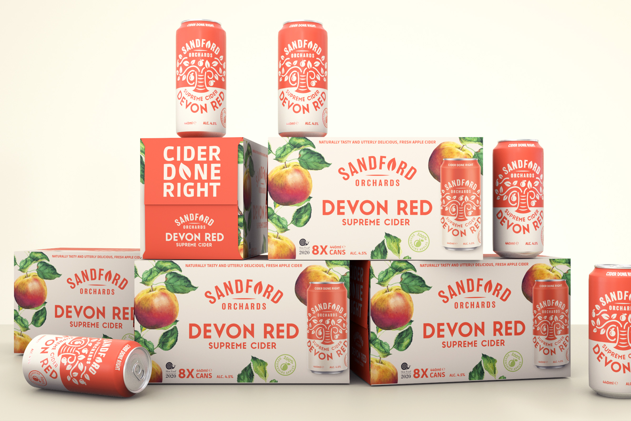 Cider Done Right: A Fresh Approach in a Traditional Category Designed by Kingdom & Sparrow