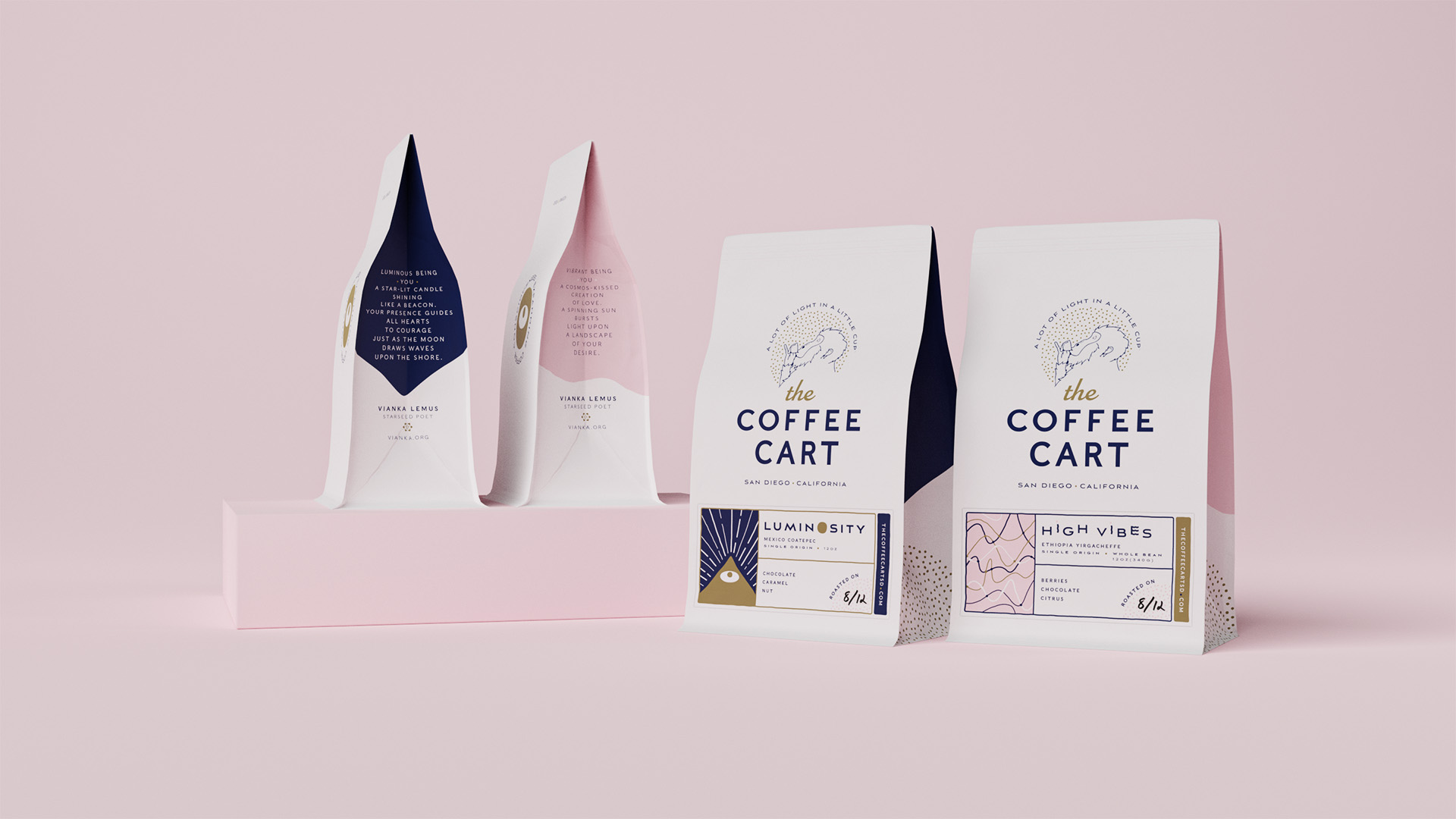 The Coffee Cart Brand and Packaging Design by Truant Studio