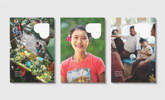 Brand Identity for Fulfillment Finance Myanmar (FFM) Designed by Fagerström