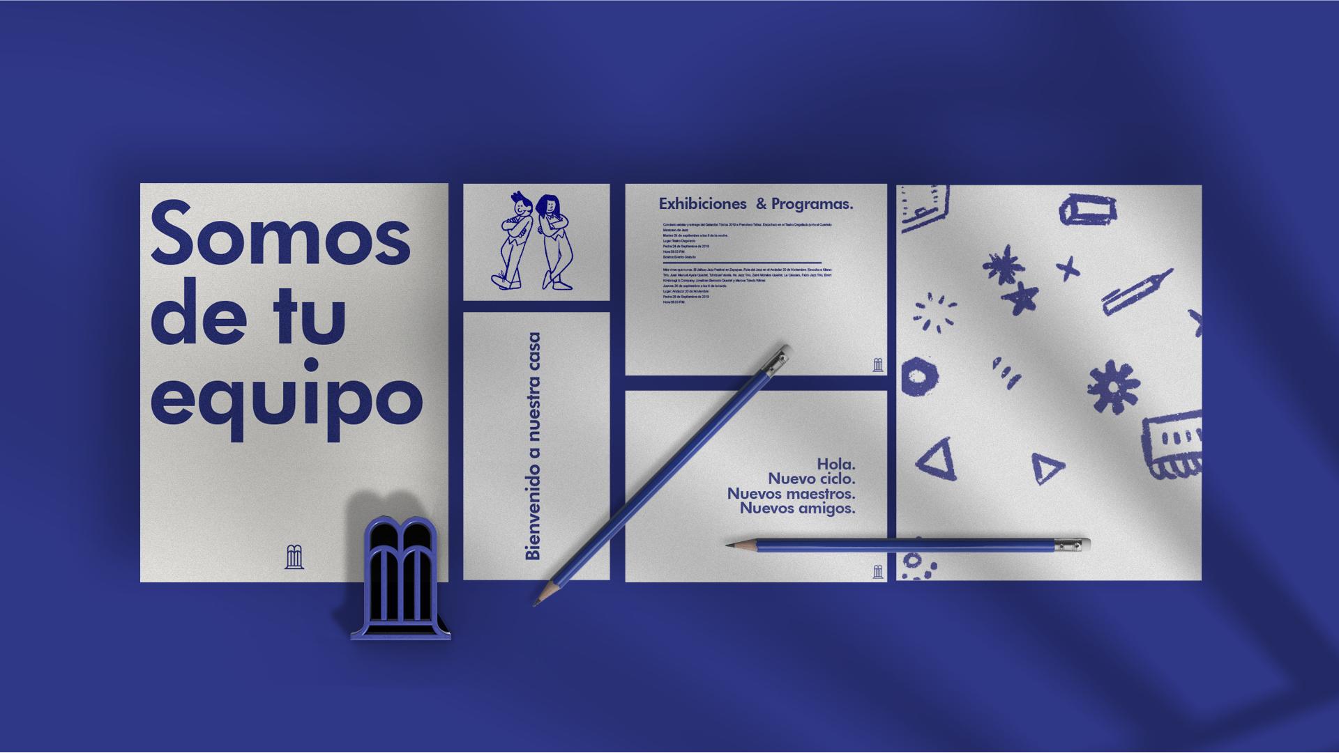 Hi! Estudio Creates Branding for a Mexican Varsity