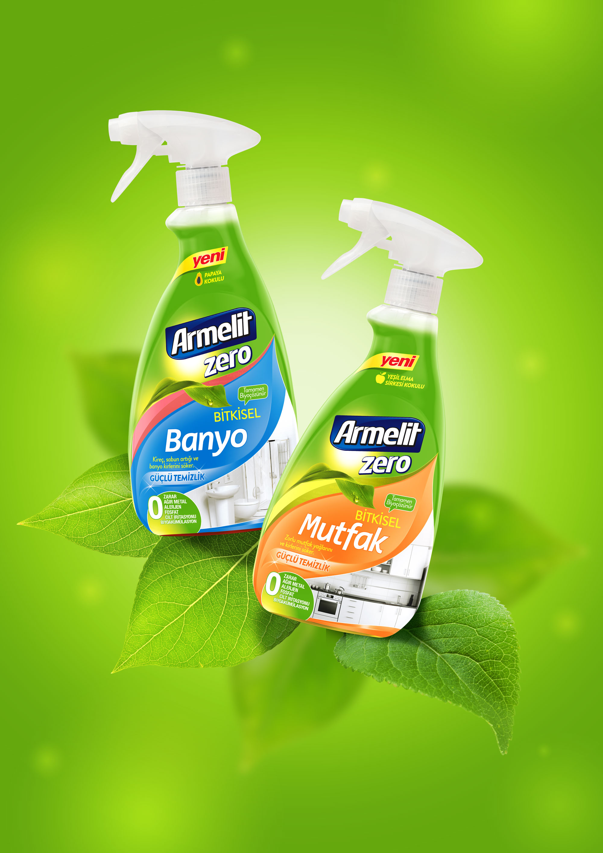 designVENA Create Natural Cleaning Spray Packaging Design