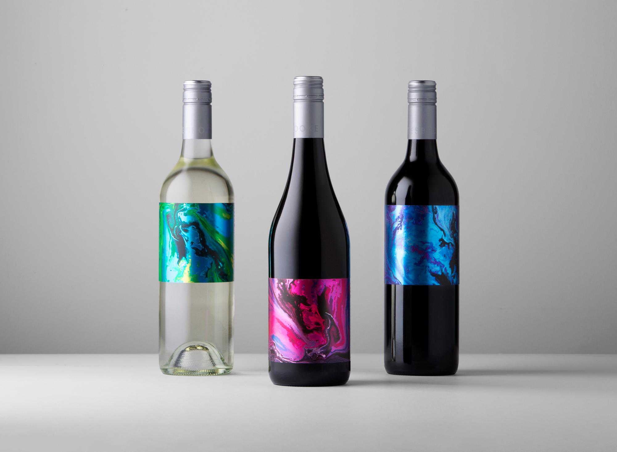 Shottesbrooke Tide Chaser Series of Wine Labels Designed by David Byerlee Design