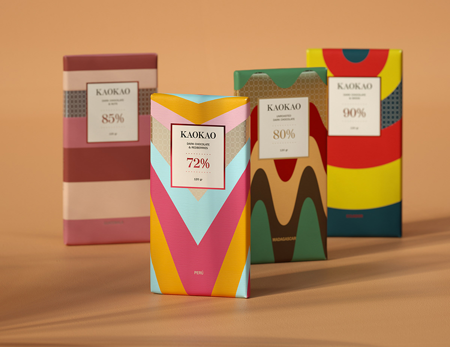 Packaging Design Concept for Chocolate Bars Created by Denny Saurio and Luca Battiato