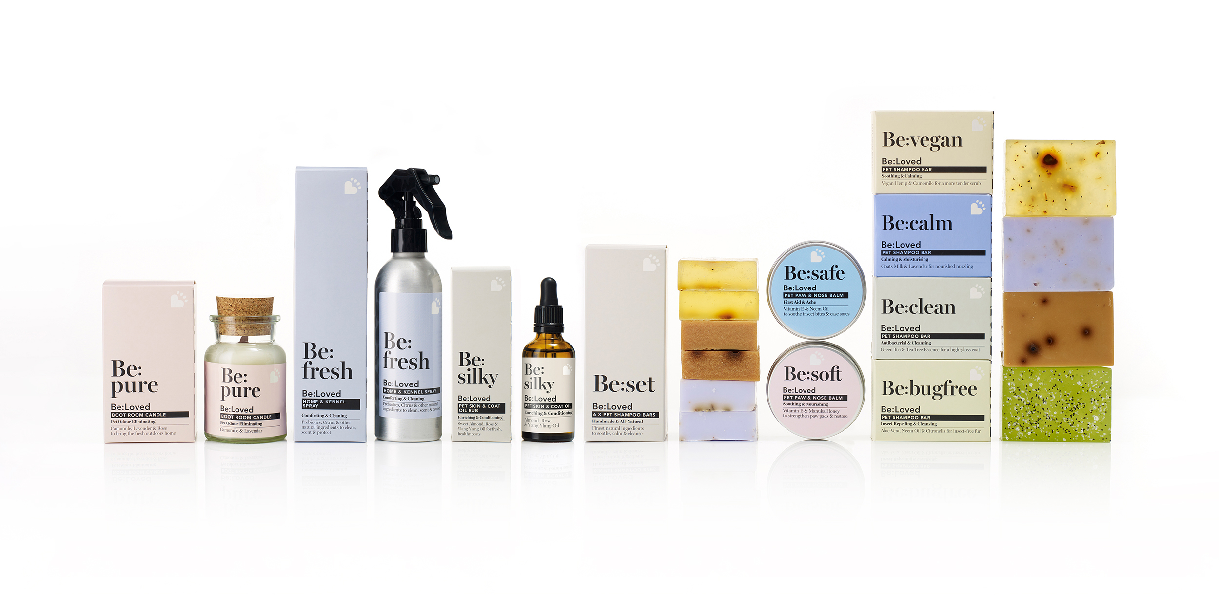 Be:Loved Luxury Pet Care Brand Creation by Popp Studio