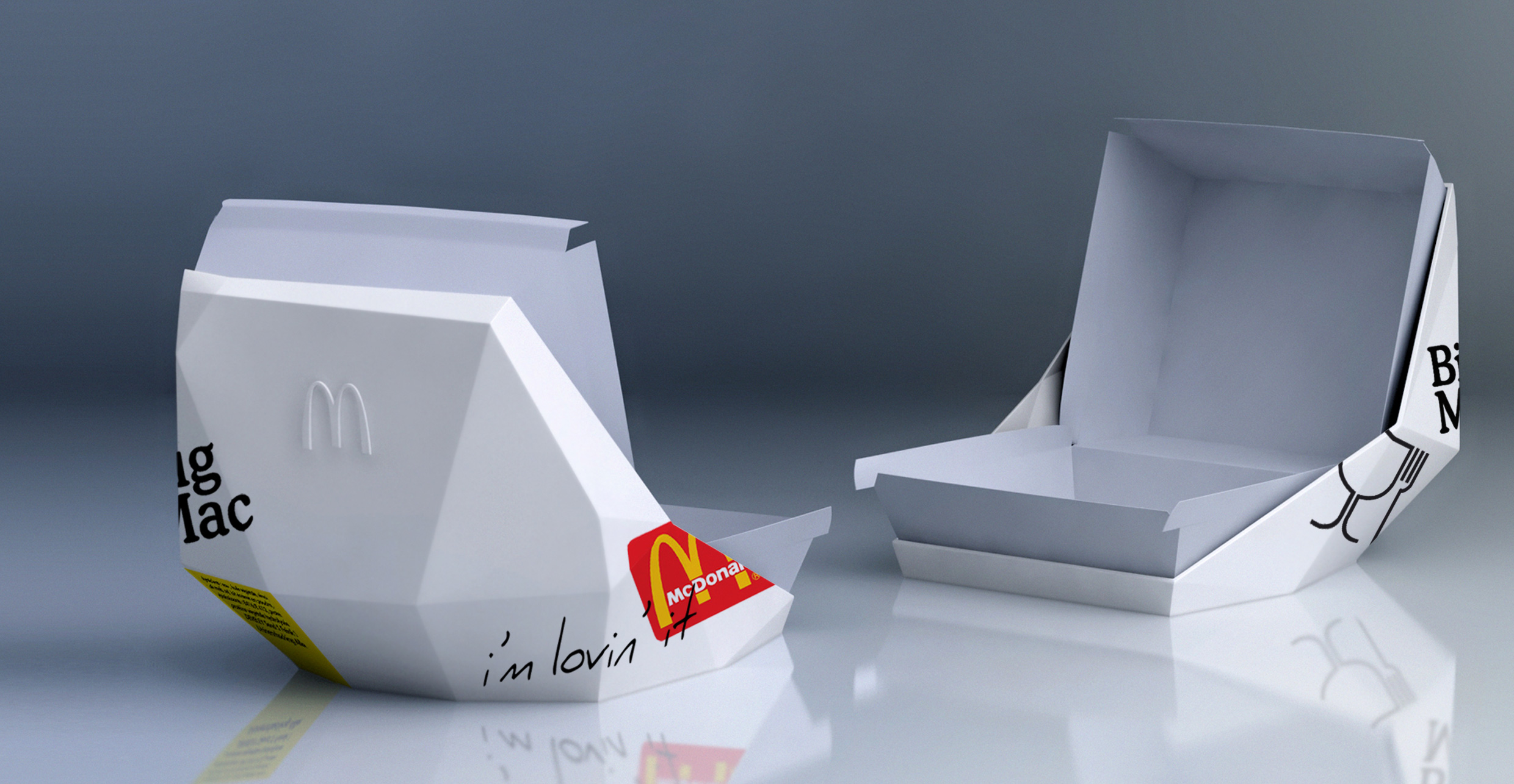 Eat you BigMac at Home in Style, Designed Concept by Delatour Design Paris